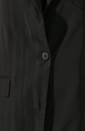 Женский жилет из вискозы ISABEL BENENATO черного цвета, арт. DW12S20 | Фото 5