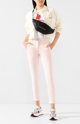 Женские брюки JACOB COHEN розового цвета, арт. MARINA 00964-S/53 | Фото 2