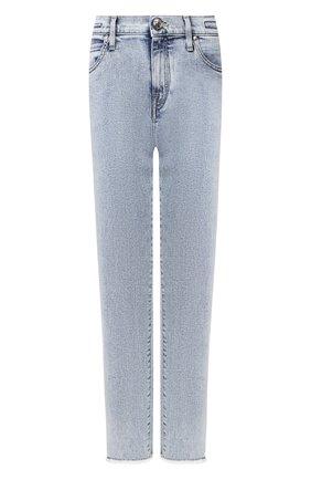Женские джинсы JACOB COHEN голубого цвета, арт. KAREN RELAX 01915-W3/53 | Фото 1