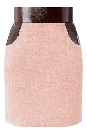 Женская юбка ULYANA SERGEENKO темно-бежевого цвета, арт. GNC005SS19P (0512т19) | Фото 1