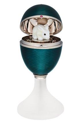Женского подарочное яйцо MERCURY бесцветного цвета, арт. PL333/SG/02/00/101 | Фото 2 (Ювелирные украшения: Ювелирные украшения-подарки; Материал сплава: Белое золото; Драгоценные камни: Бриллианты)