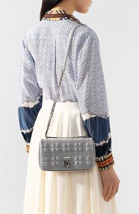 Женская сумка lola BURBERRY серого цвета, арт. 8029312 | Фото 2