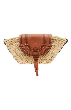 Женская сумка marcie CHLOÉ светло-коричневого цвета, арт. CHC20US829C97   Фото 1