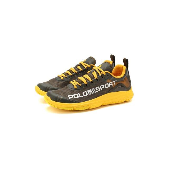 Комбинированные кроссовки Polo Ralph Lauren — Комбинированные кроссовки