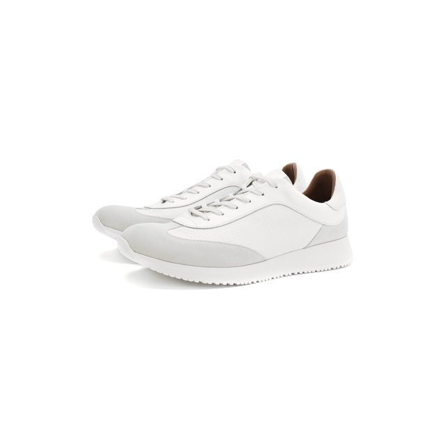 Кожаные кроссовки Gianvito Rossi — Кожаные кроссовки