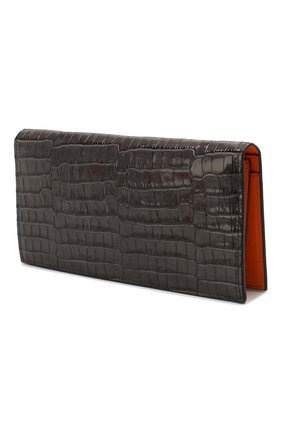 Мужская кожаный футляр для документов GIVENCHY темно-серого цвета, арт. BK600KK0VY | Фото 2