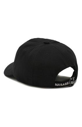 Мужской хлопковая бейсболка NASASEASONS черного цвета, арт. C038B/BAD F0R Y0U | Фото 2