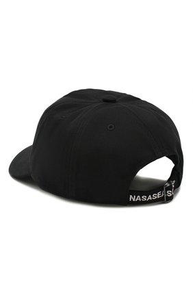 Мужской хлопковая бейсболка NASASEASONS черного цвета, арт. C039B/N0W 0R NEVER | Фото 2