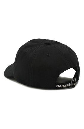 Мужской хлопковая бейсболка NASASEASONS черного цвета, арт. C040B/N0T AVAILABLE | Фото 2
