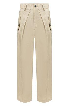 Мужской брюки JACQUEMUS бежевого цвета, арт. 205PA05/06150 | Фото 1