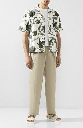 Мужской брюки JACQUEMUS бежевого цвета, арт. 205PA05/06150 | Фото 2
