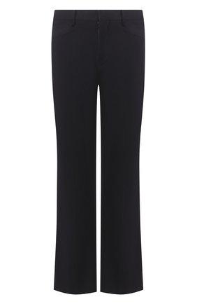 Мужской хлопковые брюки NEIL BARRETT темно-синего цвета, арт. BPA771/N014 | Фото 1