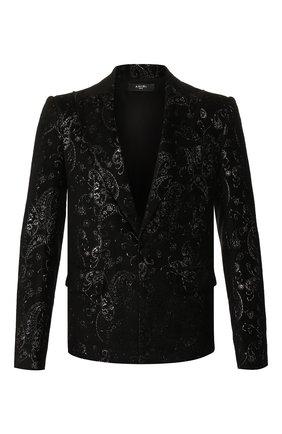 Пиджак из смеси вискозы и шелка   Фото №1