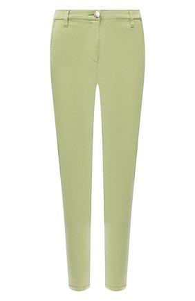 Женские брюки JACOB COHEN зеленого цвета, арт. MARINA 00964-S/53 | Фото 1