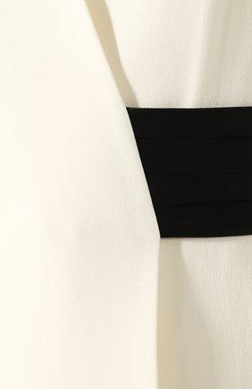 Женский жилет VICTORIA BECKHAM кремвого цвета, арт. 1120WTP000753A | Фото 5