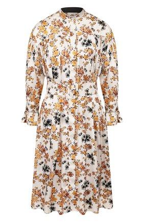 Женское платье с поясом VICTORIA, VICTORIA BECKHAM разноцветного цвета, арт. 2220WDR001184A | Фото 1
