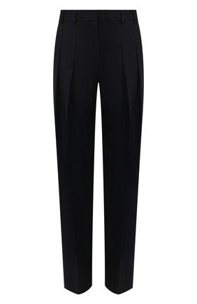 Женские брюки со стрелками VICTORIA, VICTORIA BECKHAM темно-синего цвета, арт. 2120WTR000516C | Фото 1