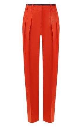 Женские брюки со стрелками VICTORIA, VICTORIA BECKHAM красного цвета, арт. 2120WTR000516B | Фото 1