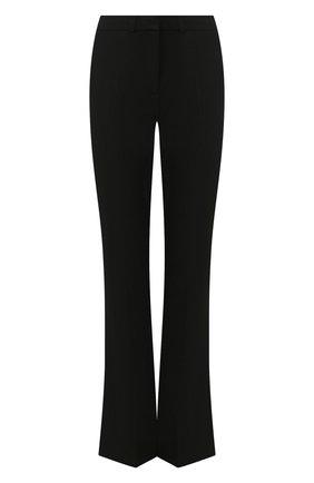 Женские расклешенные брюки VICTORIA, VICTORIA BECKHAM черного цвета, арт. 2120WTR000431B | Фото 1