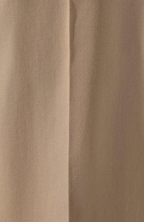 Женские шорты VICTORIA, VICTORIA BECKHAM бежевого цвета, арт. 2220WSR000958A | Фото 5