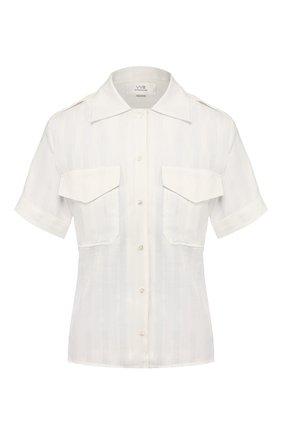 Женская рубашка VICTORIA, VICTORIA BECKHAM белого цвета, арт. 2220WSH000949A | Фото 1