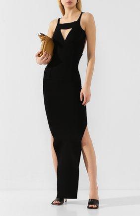Женское платье из вискозы RICK OWENS черного цвета, арт. R020S1675/KST   Фото 2