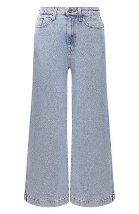 Женские джинсы NANUSHKA голубого цвета, арт. RAM0S_LIGHT BLUE_DENIM | Фото 1