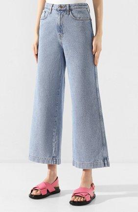 Женские джинсы NANUSHKA голубого цвета, арт. RAM0S_LIGHT BLUE_DENIM | Фото 3
