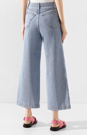Женские джинсы NANUSHKA голубого цвета, арт. RAM0S_LIGHT BLUE_DENIM | Фото 4