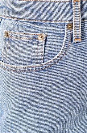 Женские джинсы NANUSHKA голубого цвета, арт. RAM0S_LIGHT BLUE_DENIM | Фото 5