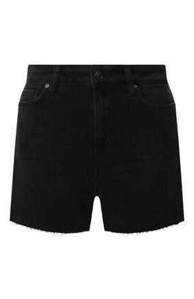Женские джинсовые шорты PAIGE черного цвета, арт. 2800298-7649 | Фото 1