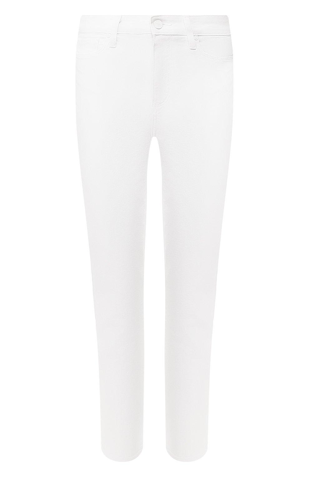 Женские джинсы PAIGE белого цвета, арт. 2824208-4520   Фото 1