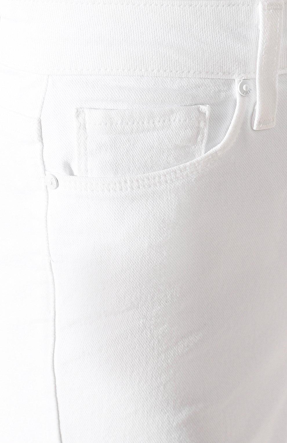 Женские джинсы PAIGE белого цвета, арт. 2824208-4520   Фото 5