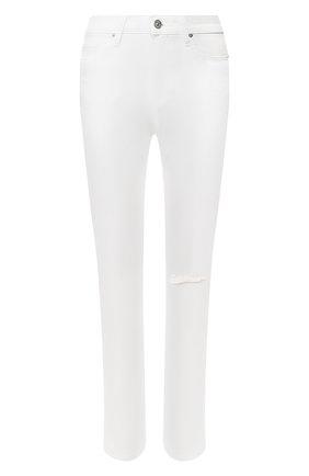 Женские джинсы PAIGE белого цвета, арт. 5673208-7709 | Фото 1