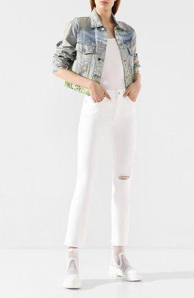 Женские джинсы PAIGE белого цвета, арт. 5673208-7709 | Фото 2