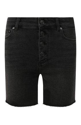 Женские джинсовые шорты PAIGE черного цвета, арт. 5954298-7994 | Фото 1