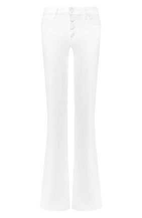Женские расклешенные джинсы PAIGE белого цвета, арт. 6040208-4520 | Фото 1