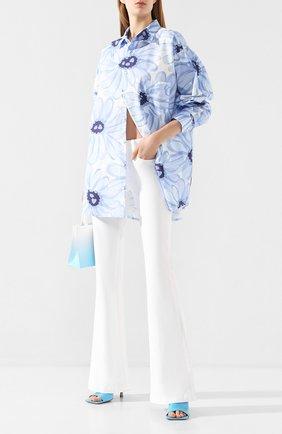 Женские расклешенные джинсы PAIGE белого цвета, арт. 6040208-4520 | Фото 2