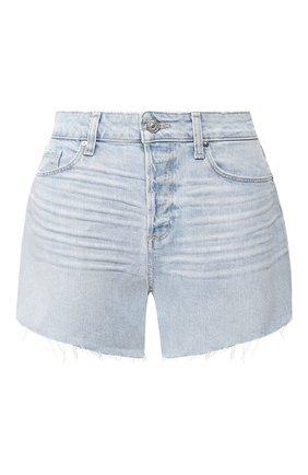 Женские джинсовые шорты PAIGE голубого цвета, арт. 6041635-8561 | Фото 1