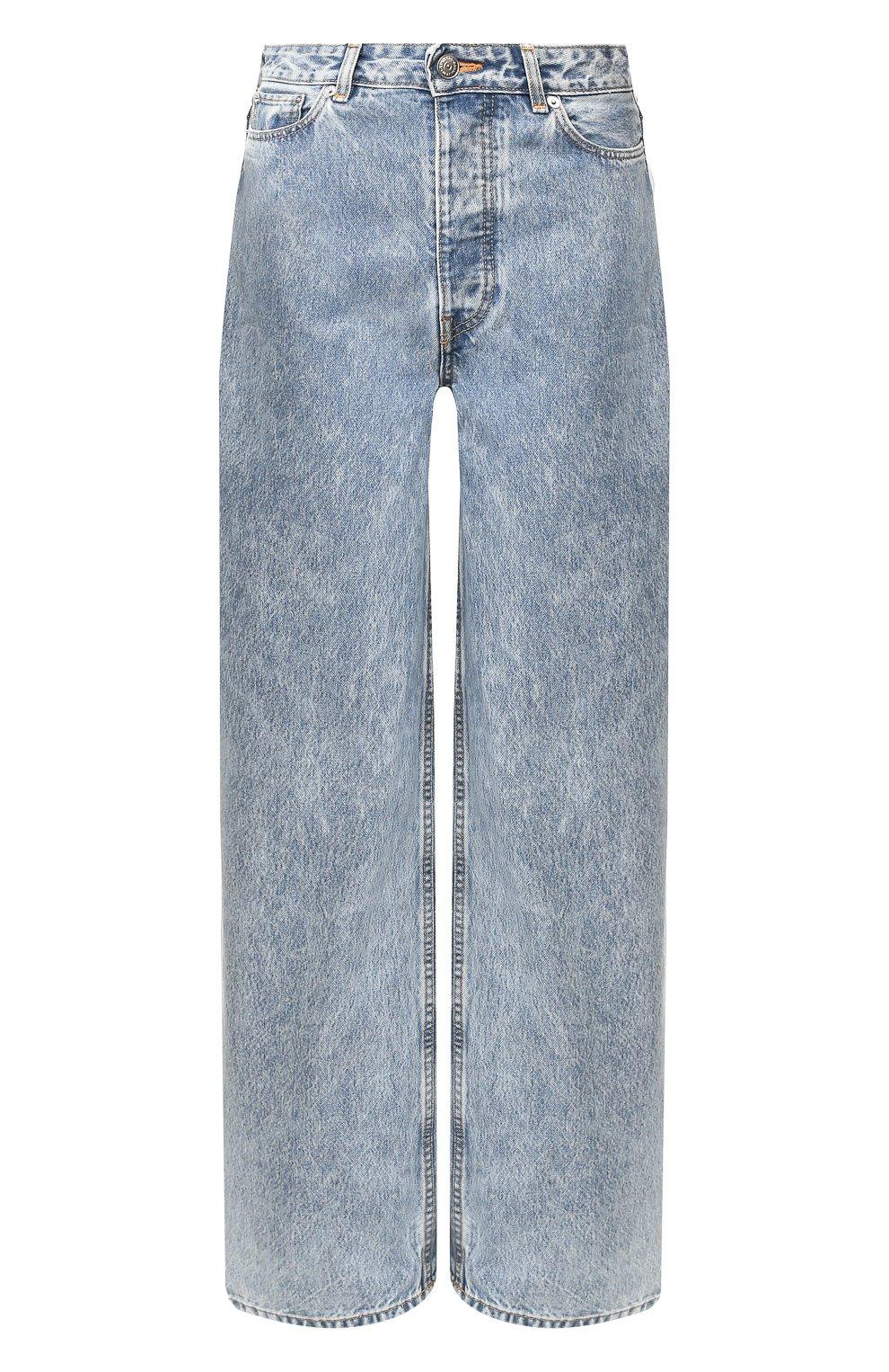 Женские джинсы GANNI голубого цвета, арт. F4481 | Фото 1