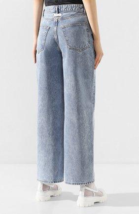 Женские джинсы GANNI голубого цвета, арт. F4481 | Фото 4
