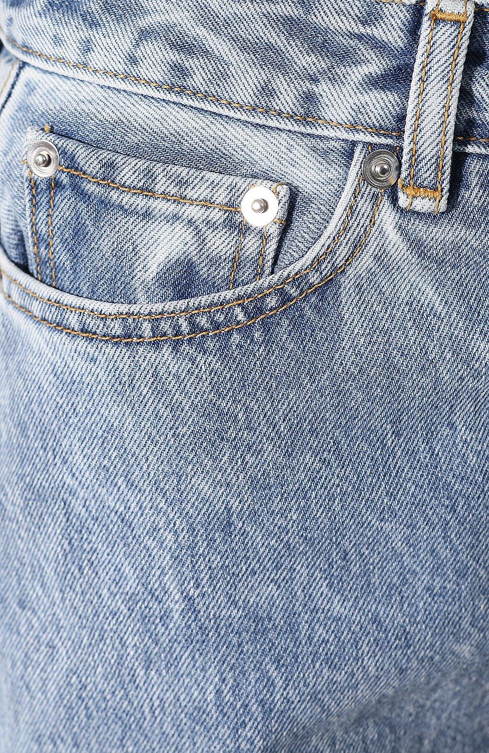 Женские джинсы GANNI голубого цвета, арт. F4481 | Фото 5