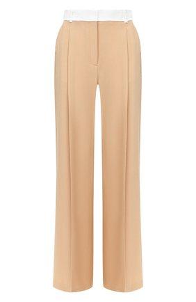Женские шерстяные брюки RACIL бежевого цвета, арт. RS10-P8-W-PETER   Фото 1