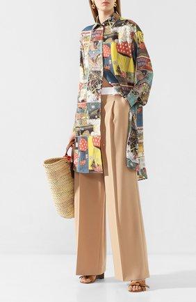 Женские шерстяные брюки RACIL бежевого цвета, арт. RS10-P8-W-PETER   Фото 2