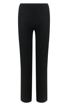 Женские брюки из вискозы TOTÊME черного цвета, арт. C0UR 202-204-755 | Фото 1