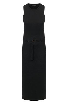 Женское платье-миди RAG&BONE черного цвета, арт. WAC20S3016JF16   Фото 1