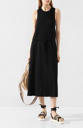 Женское платье-миди RAG&BONE черного цвета, арт. WAC20S3016JF16   Фото 2
