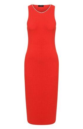 Женское платье из вискозы RAG&BONE красного цвета, арт. WAS20S0022XZ22   Фото 1