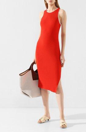 Женское платье из вискозы RAG&BONE красного цвета, арт. WAS20S0022XZ22   Фото 2