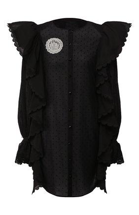 Женское хлопковое платье ULYANA SERGEENKO черного цвета, арт. ABC002SS20P (0146т20) | Фото 1
